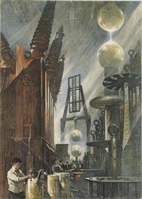 man-made lightening by thornton oakley