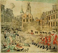 the bloody massacre perpetrated in king street boston on march 5th 1770 by a party of the 29th rgt by paul revere