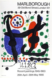 recent paintings by joan miró