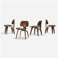 dcws, set of four by charles and ray eames