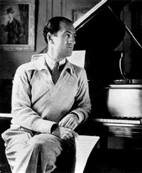 george gershwin by grancel fitz