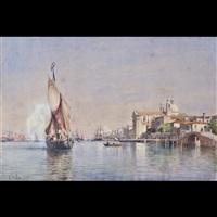 barche nel canale della giudecca by emanuel stöckler