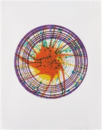 round, from in a spin, the action of the world on things, vol. 1 by damien hirst