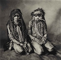 two thin new guinea women, may by irving penn