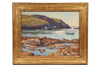 the harbor, monhegan by william chadwick