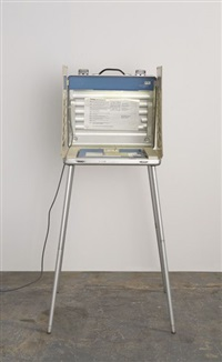 voting booth by christoph büchel