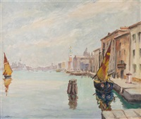 venedig, riva dei schiavoni by lois alton