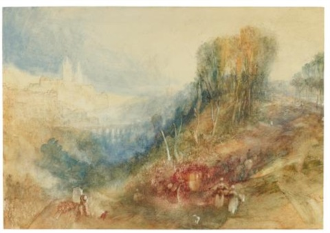 lausanne from the west by joseph mallord william turner