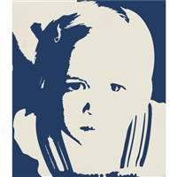 small girl looking up by tim ayres