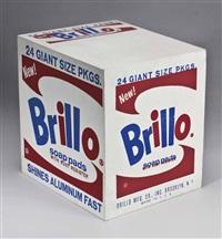 brillo soap pads box by andy warhol