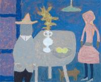 the blue room by jan roëde