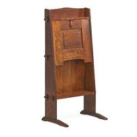 chalet desk by gustav stickley