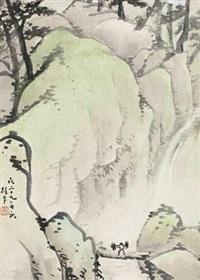 行山图 by li xiongcai