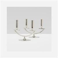 candelabrum (pair) by franz hagenauer