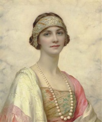 an elegant beauty by william clarke wontner