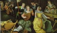 musizierende gesellschaft by joos van winghe
