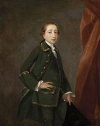 portrait du jeune peter john fremeaux by john astley