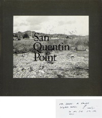 san quentin point (book w/58 works, oblong quarto, first ed.) by lewis baltz