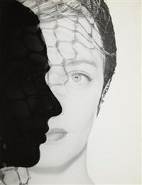untitled (profile silhouette) by erwin blumenfeld
