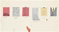 costume designs for ubu roi by david hockney