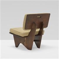 lounge chair from the winn house, kalamazoo, michigan by frank lloyd wright