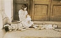 woman and children, havana, cuba by walker evans
