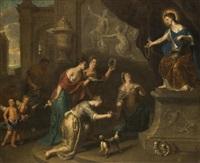 allegorie der fülle by gerard hoet the elder