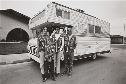 camper family from the series suburbia by bill owens
