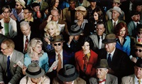 crowd #1 from week-end by alex prager