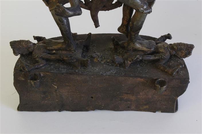 19th c sino tibetan gilt bronze of ushnishavijaya