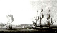 ship off the kent coast by john askew