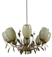 ceiling light, model 9028 by paavo tynell