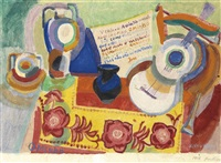 nature morte portugaise by robert delaunay