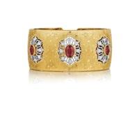an important cuff bracelet by buccellati