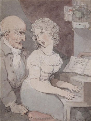 still tickling is butt teasing by thomas rowlandson