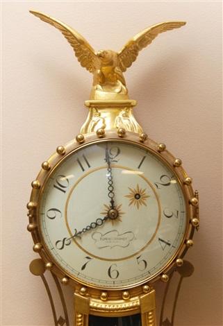 elmer o stennes aurora girandole banjo clock