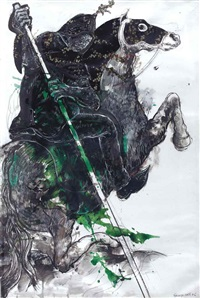 the horseman 7 (from the haroub/oriental battles series) by marwan sahmarani