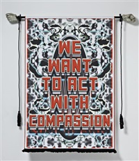 we want to act with compassion by mark titchner