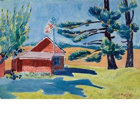 old schoolhouse ryders by george benjamin luks