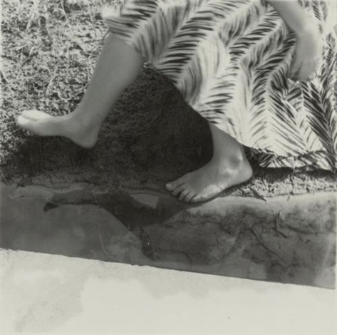 untitled providence rhode island skirt and legs by francesca woodman