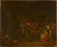 intérieur d'auberge animé by egbert van heemskerck the elder