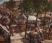 mercato in piazza re baudengo by riccardo chicco