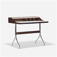 swaged-leg desk, model 5850 by george nelson & associates