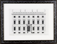 vitruvius britannicus: six plates (6 works) by hendrick hulsbergh
