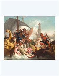 episodio di storia romana (+ another; 2 works) by giacomo zoboli