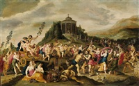der triumph des bacchus by frans francken the younger