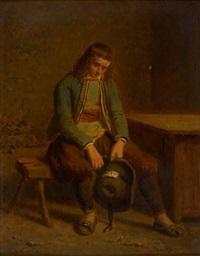 le joueur dépité by theodore bernard de heuvel