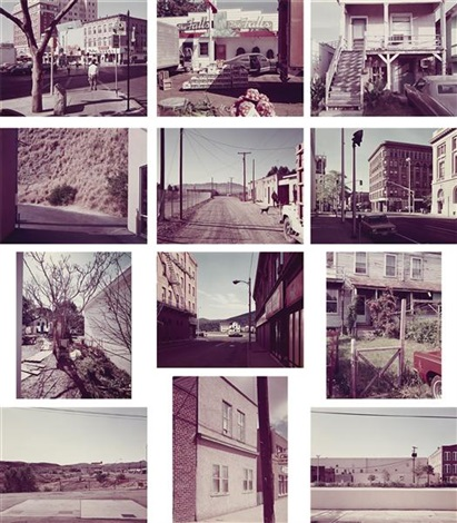 twelve photographs 12 works by stephen shore