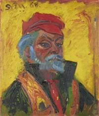 self portrait by sven berlin