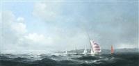 the yacht race by dusan kadlec